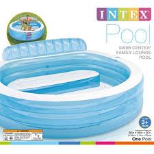 amazon com intex swim center inflatable family lounge pool 88
