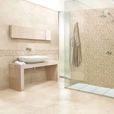 Subway Tile Bathroom Ideas Mesmerizing Travertine Subway Tile Bathroom Photo Decoration Ideas