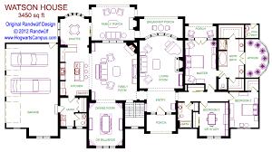 watson house floor plan