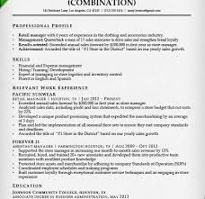 sample retail store manager resume sample resume retail cv template ks retail manager resume