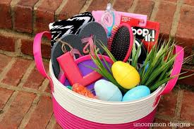 Easter Baskets Delivered Tween Easter Basket Ideas Uncommon Designs