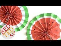 4th july paper fans templates free printable easy paper fan