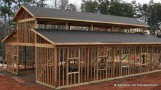 Barn Plans by Monitor Style Barn Kit Horse Barn Plans Barn Building Kits