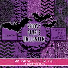 halloween background with purple spooky purple halloween digital paper buy 2 get 1 free free