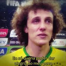 David Luiz Meme - brazil brasil sele礑磽o brasileira david luiz world cup 2014 brasil