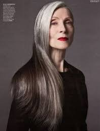 long hair on 66 year old 66 year old model there is a whole gang of us out there young