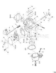 mercury 25 hp carburetor diagram 25 hp mercury outboard carburetor