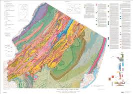 New Jersey Map Bedrock Geologic Map Of Northern New Jersey