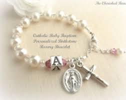 baptism charm bracelet baptism bracelet etsy