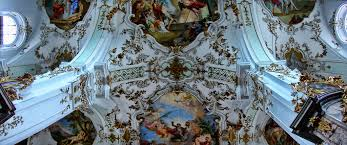 Church Ceilings A View To A Baroque Church Ceiling A Small Panorama From T U2026 Flickr