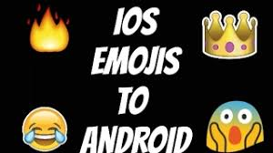 how to get ios emojis on android ios 10 2 emojis in any android no root