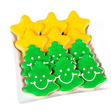 eat u0027n park christmas commercial cookie combo pack six trees