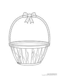 easter basket template easter basket clipart u0026 easter craft