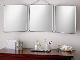 lovely tri fold bathroom mirror bathroom ideas
