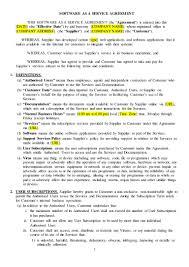 Military Resume Builder Saas Agreement Sample