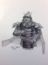 samurai shredder sketch by nguy0699 on deviantart
