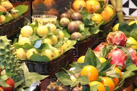free picture fruit orange basket market leaf fresh food
