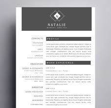 Resume Templates For Mac Creative Resume Templates For Mac U0026 Apple Pages ٩ ۶ Kukook