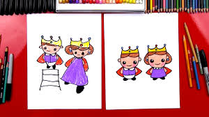 cute jeep drawing how to draw a king and queen art for kids hub