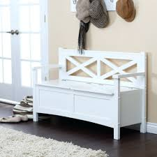 Indoor Storage Bench Design Plans by Bench Wooden Storage Bench Seat Indoors Awesome White Storage