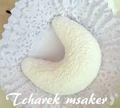 corne de cuisine tcharek msaker corne de gazelle enrobé de sucre glace amour de