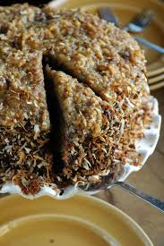 toasted coconut german chocolate cake the adventure bite