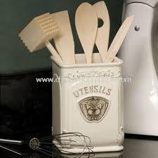 kitchen utensil canister rachael 6 kitchen utensil set orange stainless steel 5