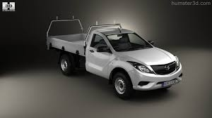 mazda truck 2016 360 view of mazda bt 50 single cab alloy tray 2016 3d model