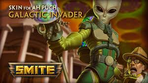 alian a h new skin for ah puch galactic invader