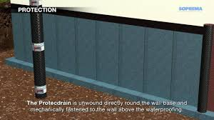 how to waterproof underground walls youtube