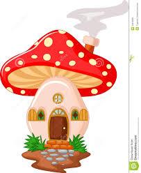 mushroom house cartoon royalty free stock image image 34612626