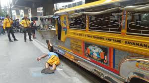 philippines jeepney inside jeepney driver shot in head by man he almost hit inquirer news