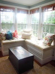 Cushions For Window Bench Kitchen Window Bench Seating Built In Bench Seat Bay Window Diy