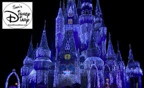 65 cinderella castle holiday lights u201ccinderella vs frozen u201d sams