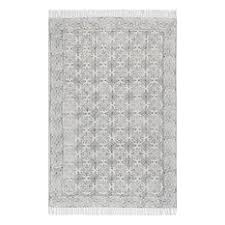 Off White Area Rugs by Fringed Area Rugs Houzz