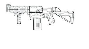 Rifle Coloring Pages Great Gun Coloring Pages With Additional Online