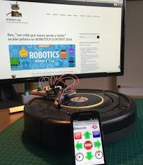 Instructables Controlling A Roomba Robot With Arduino And Android 8 Steps With
