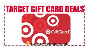 giftcard deals target coupons target coupon match ups target gift card deals