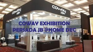 coway exhibtion home dec johor bahru just unique exhibition