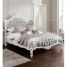 Antique Style Bed Frame White And Ivory Beds Scenic Antique Style Katherine Metal