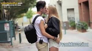 girls kiss girls in bed kiss prank video dailymotion