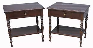 antique nightstands and bedside tables mission oak nightstand home styles 5180 42 vintage style bedside