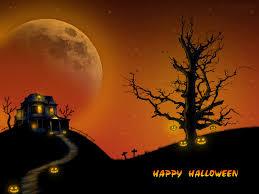halloween scene wallpaper beautiful halloween wallpapers wallpaper for facebook