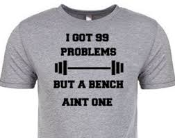Bench Mens T Shirts 99 Problems Etsy