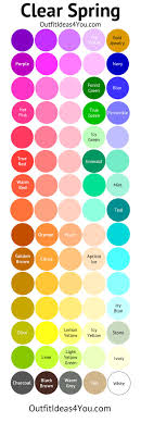 spring color best spring colors in daeeffbcbfee clear spring color palette bright