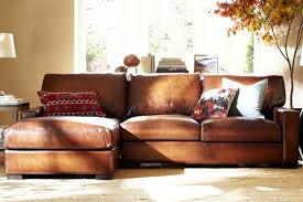 Leather Sectional Sofas Sale Remarkable Pottery Barn Sectional Sofas 66 For Leather