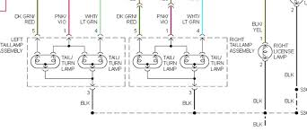 dodge grand caravan tail light wiring diagram dodge free wiring