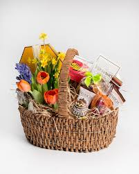 easter gift basket easter flowers gift baskets robertson s flowers