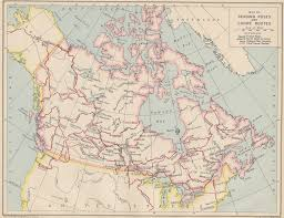 French Canada Map by An Historical Atlas Of Canada