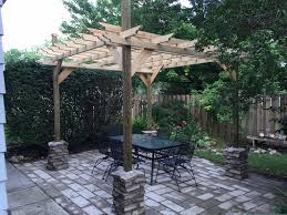 How To Build A Detached Patio Cover by 15 Free Pergola Plans You Can Diy Today